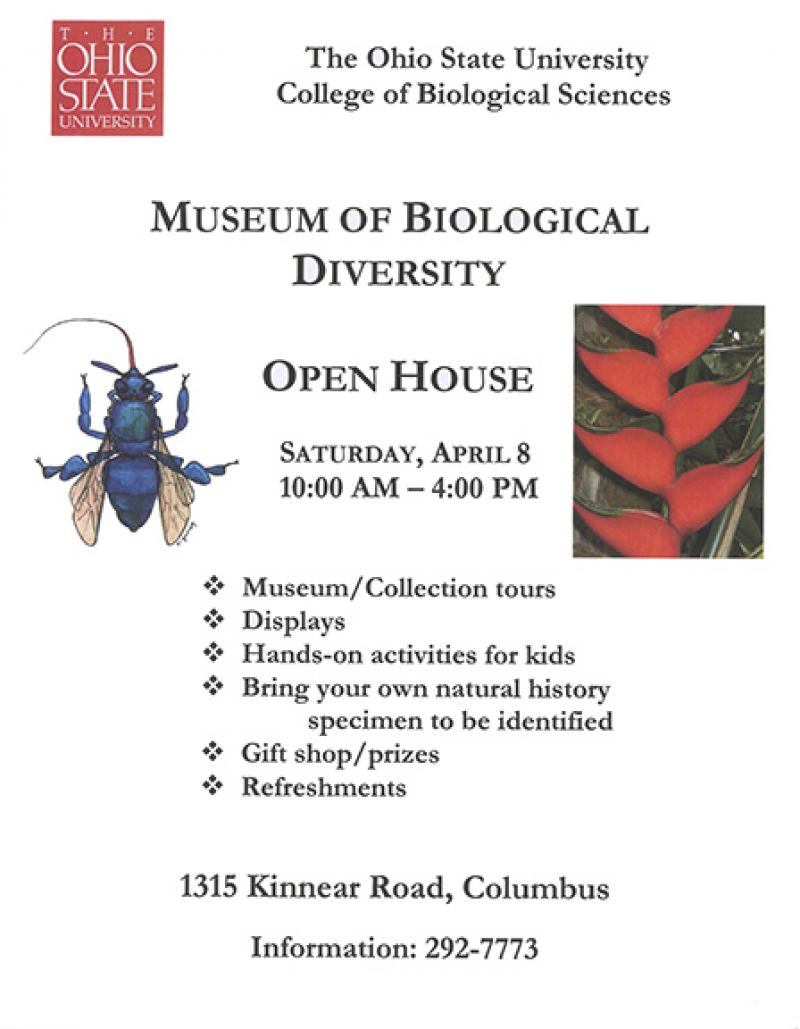 Flyer for the 2006 Museum Open House